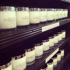 100% soy candles. 100% locally made. #stockingstuffers | @isabelleandco Instagram