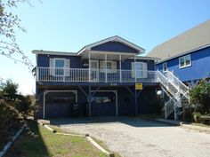 Holden Beach, NC - Serendipity 539 a 4 Bedroom Oceanfront Rental House in Holden Beach, part of the Brunswick Beaches of North Carolina. Includes Hi-Speed Internet. Non-Smoking.