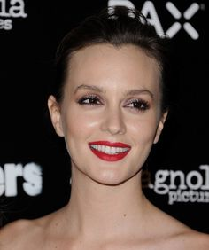 Leighton Meester at the LA Premiere of 'Life Partners' Leighton Meester, Life Partners, Red Lips, Photos, Beginning Sounds, Pictures