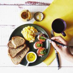 .@utosh | Today's breakfast! | Webstagram French Toast, Foods, Breakfast, Food Food, Morning Coffee, Food Items