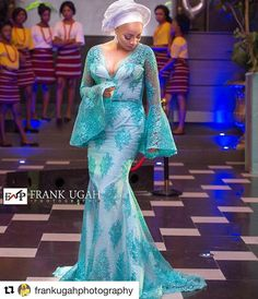 Sophisticated Nigerian Aso Ebi Styles Amillionstylescom More