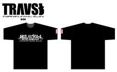 TRAVS8   T-Shirt No,07   4,900yen