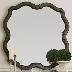 Shop the Cotswold Decorative Mirror at Woodstock Furniture & Mattress Outlet. This scalloped mirror can be used above the dresser or as just a stand alone decorative mirror. Special financing available. Simple Furniture, Shabby Chic Furniture, Furniture Making, Furniture Decor, Furniture Mattress, Bedroom Furniture, Furniture Stores, Cheap Furniture, Discount Furniture