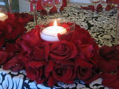 Black, White and Red Wedding Flowers | Heavenly Blooms