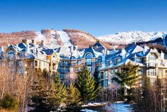 Great Deal Alert! Double Starpoints and 25% off for stays at the Le Westin Resort & Spa, Tremblant