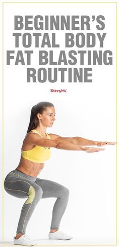 Beginners Total Body Fat Blasting Routine