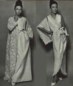 1965 - Yves Saint Laurent evening dresses