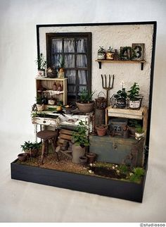 Junk garden2 by studio soo, via Flickr  I think this is wonderful
