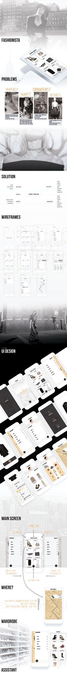 다음 @Behance 프로젝트 확인: \u201cFASHIONISTA - Personal Stylist and Assistant - iOS App\u201d https://www.behance.net/gallery/50230623/FASHIONISTA-Personal-Stylist-and-Assistant-iOS-App