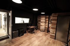 recording room two (black room)