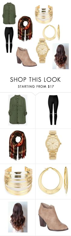"""""""<3"""" by katiemcgee1972 on Polyvore featuring Zara, Steve Madden, Michael Kors, WithChic, Ross-Simons, Billini, women's clothing, women, female and woman"""