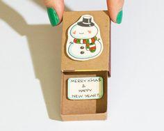 Verkauf: Card / niedlichen Schneemann Weihnachten von shop3xu