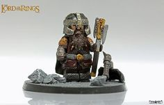 LOTR Gimli Custom Minifigure
