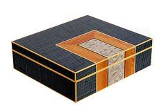 Marquetry Box - 370mm x 330mm x 110mm