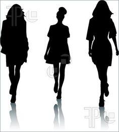 fashion silhouette - Google Search