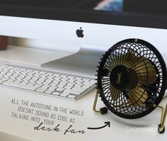 Metallic Range Desk Fan - JB Hifi, Australia. Other metallic colours available - SourceHub Group