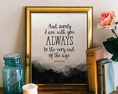 Inspirational Quote Christian Wall by LatoyaMoniqueDesigns on Etsy