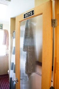 Cute boy's room idea.
