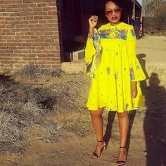 Shop for everything but the ordinary. African Wedding Attire, African Attire, African Dress, Tsonga Traditional Dresses, South African Traditional Dresses, African Print Clothing, African Print Fashion, Latest African Fashion Dresses, Colorful Fashion