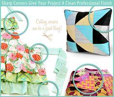 Stitching and Cutting Corners Correctly   Sew4Home