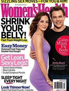 "Women's Health Magazine, ""Get A Leg Up."" -March 2011"