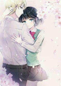 Kuzu no Honkai hanabi et mugi Manga Anime, Fanart Manga, Anime Love Couple, Cute Anime Couples, Kuzu No Honkai Hanabi, Le Couple Parfait, Scums Wish, Shingeki No Bahamut, Noragami