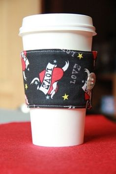How to make a Coffee Cup Sleeve   Crafty Staci