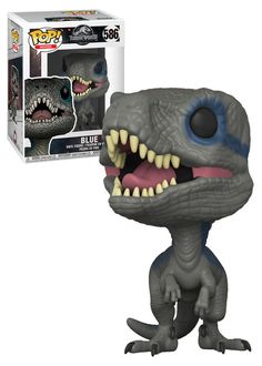 Jurassic World Fallen Kingdom # 586 Blue – Neu, Neuwertig. Blue Jurassic World, Jurassic World Fallen Kingdom, Pop Culture Shop, Funko Pop Anime, Funko Pop Dolls, Pop Figurine, Funk Pop, Funko Figures, Pop Toys