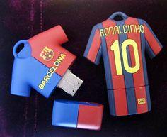 Barcelona Soccer Shirt Flash Drive
