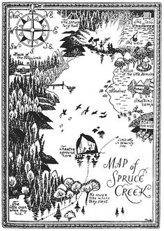 Here a very few of the many images by the super talented Jansson, as well as some of the many Moomin ephemera now ava. Writing Fantasy, Fantasy Map, Moomin Books, Imaginary Maps, Tove Jansson, Moomin Valley, Childhood Stories, Map Painting, Hand Illustration