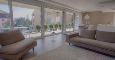 Luxuriöse 4.5 Zimmerwohnung mit Garten- und Seeblick in Pully zu vermieten.