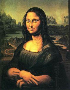 Octavio Ocampo - «La silla de Mona Lisa».