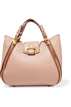 Blush textured-leather (Calf) Tab fastening at open top Comes with dust bag Weighs approximately 2.9lbs/ 1.3kg Made in Italy