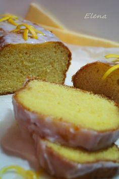 Chocolate y Pimienta: Cake de limón glaseado