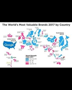 The most important #brands of this year by country
