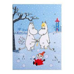 Moomin chocolate Christmas calendar 2016
