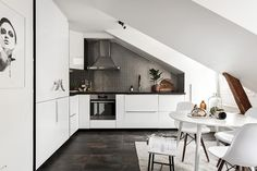 Ljus vindslägenhet med oslagbart läge ‹ Dansk inredning och design