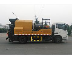 Full hydraulic system integrated maintenance vehicles