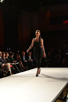 Kelly Cameron, Graduate Runway Fashion Collection at Redefining Design 2014. The School of Fashion at Seneca College. #RedefiningDesign