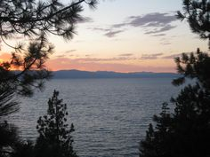 Would actually like to go to Lake Tahoe, not just drive past it every time.