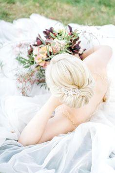 Pastel Wedding Theme, Wedding Day, Blonde Bridal Hair, Winter Bride, Best Wedding Hairstyles, Luxury Hair, Burgundy Wedding, Hair Ideas, Palette
