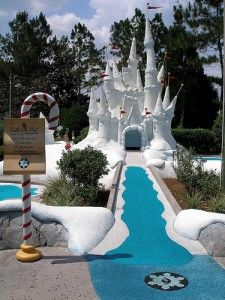Miniature Golf Courses at Walt Disney World