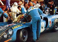 1968 Le Mans. Entered by Société des Automobiles Alpine. #30 Alpine A220 3.0L V8. Driven by André de Cortanze & Jean Vinatier into 8th place and completed 297 laps. http://images.forum-auto.com/mesimages/199569/68lm30w deCortanze-Vinatier Alpine A220-68.jpg