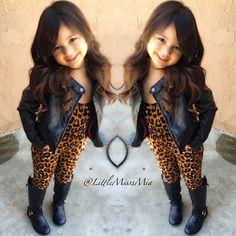 cute outfit & cute kid