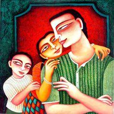Related image World Images, Folk Art, Painting, Fictional Characters, Painting Art, Paintings, Painted Canvas