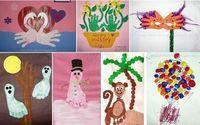 Pinterestpostof the Week: An Entire Blog for Handprint, Footprint & Fingerprint Art - Pinned by