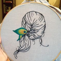 The Latest Trend in Embroidery – Embroidery on Paper - Embroidery Patterns Hand Embroidery Stitches, Modern Embroidery, Embroidery Hoop Art, Hand Embroidery Designs, Vintage Embroidery, Embroidery Techniques, Ribbon Embroidery, Cross Stitch Embroidery, Etsy Embroidery