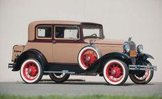 1931 Ford Model A Victoria Coupe: