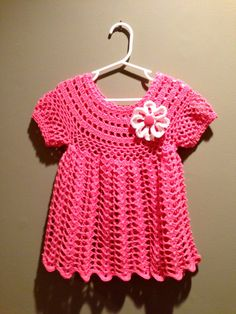 Crochet Pattern for Baby Toddler Dress Tunic by ThePatternParadise