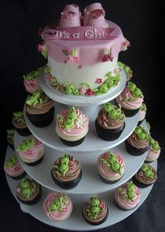 Cupcake Stands For Baby Shower